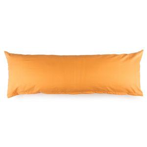 4Home Obliečka na Relaxačný vankúš Náhradný manžel oranžová, 45 x 120 cm