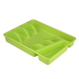Altom Plastový príborník 34 x 26 x 4,5 cm, zelená
