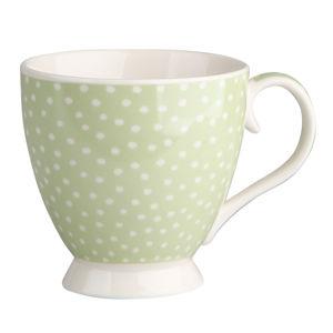 Altom Porcelánový Jumbo hrnček 420 ml, zelená