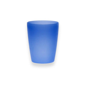 Altom Sada plastových téglikov 250 ml, 10 ks, modrá