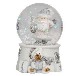 Altom Vianočné snežítko Santa, 4,5 x 6,5 cm