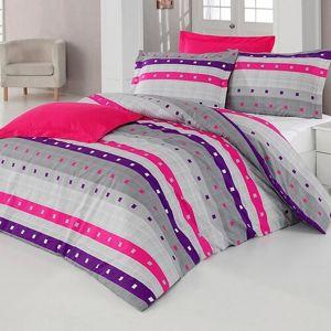 Kvalitex Bavlnené obliečky Geometric, 240 x 220 cm, 2 ks 70 x 90 cm