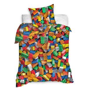 Tip Trade Bavlnené obliečky Stavebnica, 140 x 200 cm, 70 x 90 cm