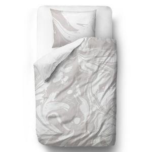 Butter Kings Saténové obliečky Gray-white dream, 140 x 200 cm, 70 x 90 cm