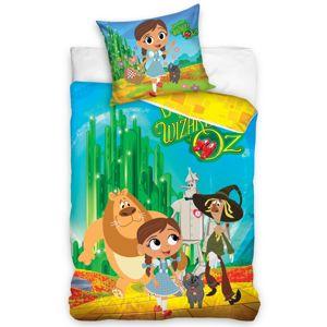 TipTrade Detské bavlnené obliečky Dorotka a Čarodejník zo zeme OZ, 140 x 200 cm, 70 x 80 cm