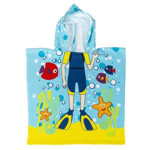 JAHU Detské pončo Potápač, 60 x 120 cm