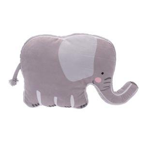 Plyšový slon, 40 x 50 x 9 cm