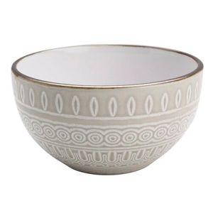 Florina Keramická miska Maroko 13,5 cm, sivá