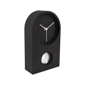 Karlsson Designové stolní kyvadlové hodiny 5801BK Karlsson KA5801BK