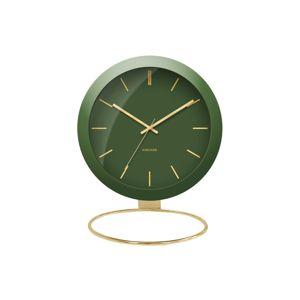 Designové stolní hodiny 5832GR Karlsson 25cm