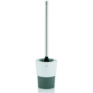 Kela WC set PIANO keramika, biela/sivá priemer 11,5cm x výška47cm KL-23040