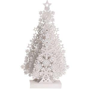 Koopman Vianočná dekorácia Tree with Snowflakes, 48 cm