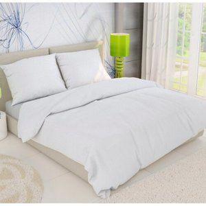 Kvalitex Krepové obliečky biela, 140 x 220 cm, 70 x 90 cm