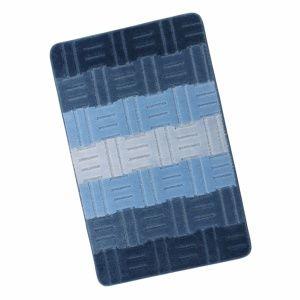 Bellatex Kúpeľňová predložka Elli Tamara modrá, 60 x 100 cm