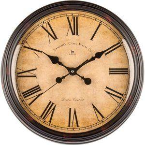 Lowell 00825 Dizajnové nástenné hodiny pr. 40 cm