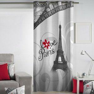 Matějovský Záves Love Paris, 140 x 260 cm