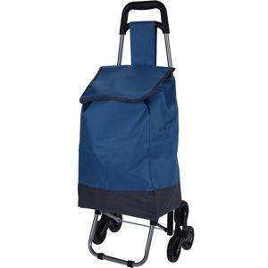 Koopman Nákupná taška na kolieskach Mindelo, modrá