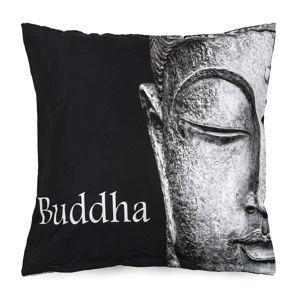 BO-MA Trading Obliečka na vankúšik Buddha face, 45 x 45 cm