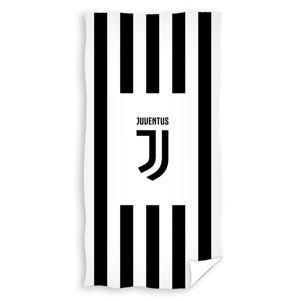 TipTrade Osuška Juventus Black Stripes, 70 x 140 cm