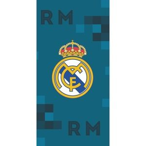 TipTrade Osuška Real Madrid Dados Blue, 70 x 140 cm