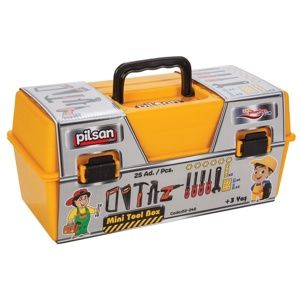 Pilsan Detský kufrík s náradím, 25 ks