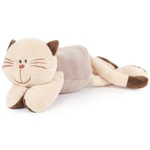 Boma Plyšová mačka ležiaca, 18 cm