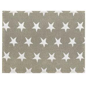 Dakls Prestieranie Hviezdička sivá, 34 x 47 cm