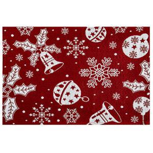 Boma Trading Prestieranie Vianočné ozdoby červená, 32 x 48 cm
