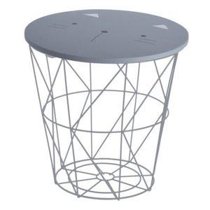 Príručný stolík Hatu, mačka, 30 x 30 cm