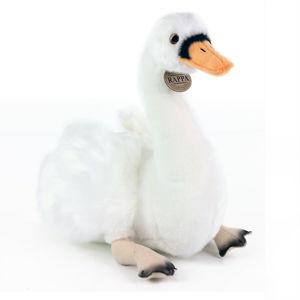 Rappa plyšová labuť sedící, 32 cm