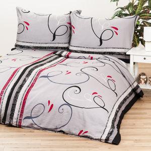 Jahu Saténové obliečky Delissia gray, 140 x 200 cm, 70 x 90 cm