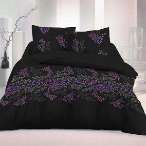 Kvalitex Saténové obliečky Victoria čierna Luxury Collection