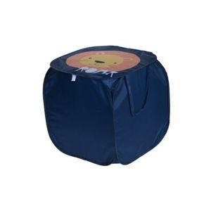 Textilný úložný box Hatu, lev, 45 x 45 x 45 cm