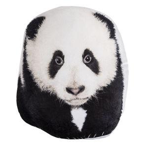 Tvarovaný vankúšik Panda, 30 x 37 cm