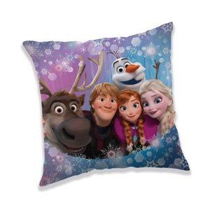 Jerry Fabrics Vankúšik Ľadové Kráľovstvo Frozen Family, 40 x 40 cm